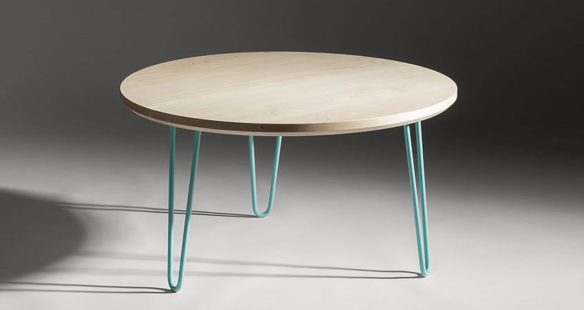 hairpin coffee table round coffee table modern coffee